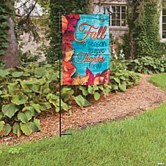 Fall Blessings Garden Flag