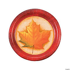 Fall Breeze Dinner Plates