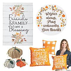 Fall Faith Home Decorating Kit