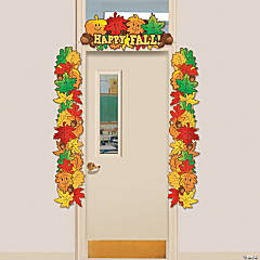Fall Leaf Door Border