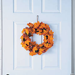 Fall Maple Leaves Wreath