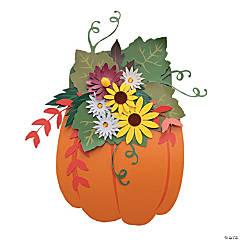 Fall Pumpkin Door Hanger Craft Kit