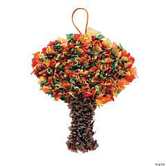 Fall Tree Crinkle Tissue Paper Craft Kit
