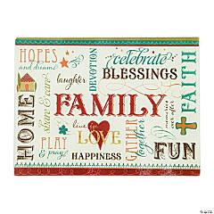 Family Cutting Board