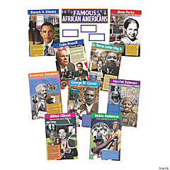 Famous African Americans Bulletin Board Display Set