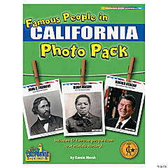 Famous People from My State's History Photo Pack - California