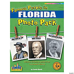 Famous People from My State's History Photo Pack - Florida