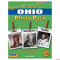 Famous People from My State's History Photo Pack - Ohio