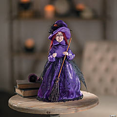 Fancy Witch Tabletop Halloween Decoration