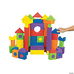 Fantastic Foam Blocks 68 pc unit