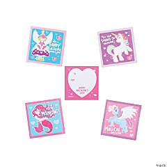Fantastical Character Valentine's Day Sticker Sheets