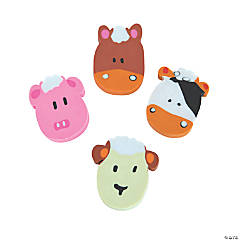 Farm Animal Erasers