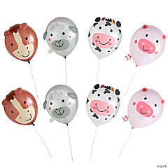 Farm Animal Latex Balloon Kit