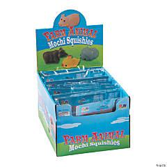 Farm Animal Mochi Squishies