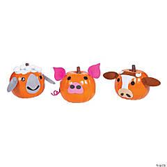 Farm Animal Pumpkin Decorating Craft Kit