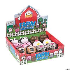 Farm Animal-Shaped Stress Balls