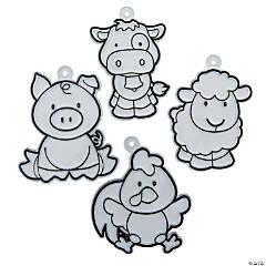 Farm Animal Suncatchers