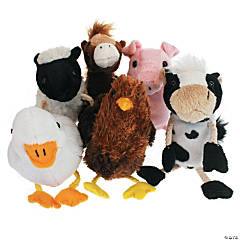 Farm Animals Finger Puppets 6 Set
