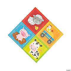 Farm Party Luncheon Napkins