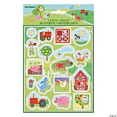 Farm Party Sticker Sheets
