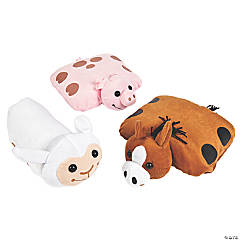 Farm Plush Pillow Friends Assortment