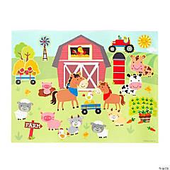 Farm Sticker Scenes