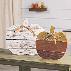 Farmhouse Fall Pumpkin Signs Halloween Decorations