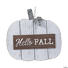 Farmhouse Fall Shiplap Pumpkin Sign