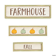 Farmhouse Fall Tabletop Blocks