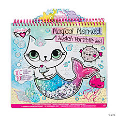 Fashion Angels® Color Your Own Magical Mermaid Sketch Portfolio