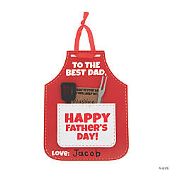 Father's Day Apron Card Craft Kit