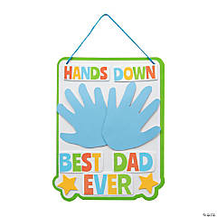 Father's Day Handprint Sign Craft Kit