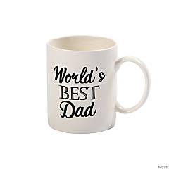 Father's Day World's Best Dad Coffee Mug