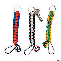 Father's Day Paracord Carabiner Keychain Craft Kit