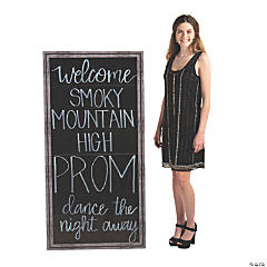 Faux Chalkboard Stand-Up