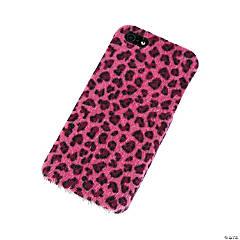 Faux Fur Black & Pink Cheetah Print iPhone® 5 Case