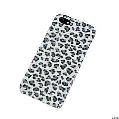 Faux Fur Black & White Cheetah Print iPhone® 5 Case