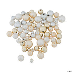 Faux Pearl Craft Bead Assortment