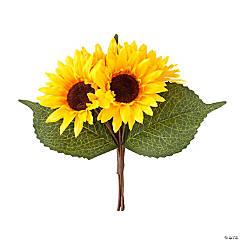 Faux Sunflower Heads
