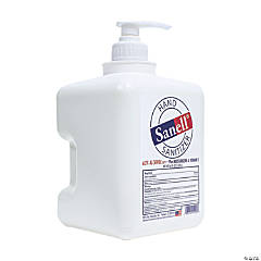 FDA-Approved 64-oz. Sanell® Hand Sanitizer Pump Bottle