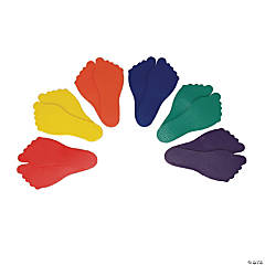 Feet Markers, Set of 6