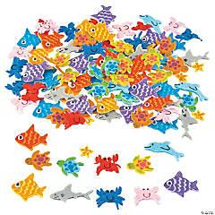 Felt Adhesive Sea Life Shapes