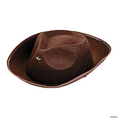 Felt Brown Child's Cowboy Hats