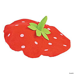 Felt Child's Strawberry Beret