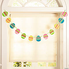 Felt Easter Egg Garland