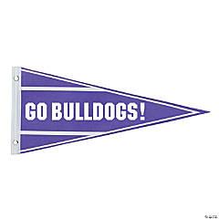 Felt Purple Pennant Custom Banner