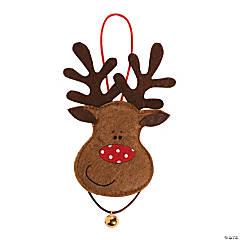 Felt Reindeer Ornament Craft Kit