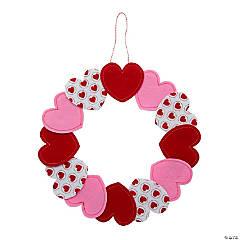 Felt Valentine Wreath Craft Kit
