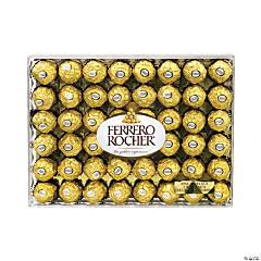 FERRERO ROCHER Hazelnut Chocolate Diamond Gift Box, 48 Pieces