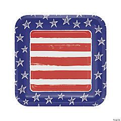 Festive Flag USA Dinner Plates